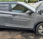 현대 KONA EV 전기차 시험주행